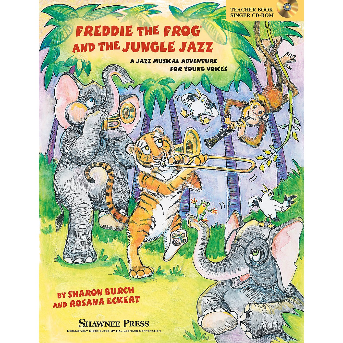 Shawnee Press Freddie the Frog and the Jungle Jazz (A Musical Jazz Adventure for Young Voices) PREV CD by Sharon Burch thumbnail