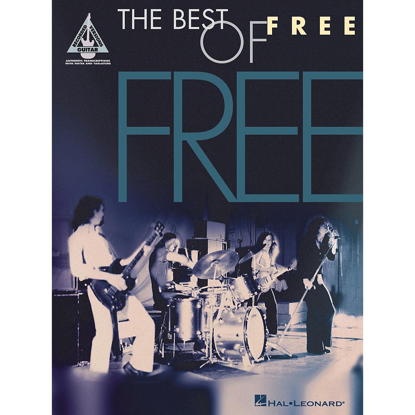 Hal Leonard Free - Best Of Guitar Tab Songbook thumbnail