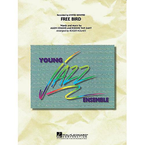 Hal Leonard Free Bird Jazz Band Level 3 Arranged by Roger Holmes thumbnail