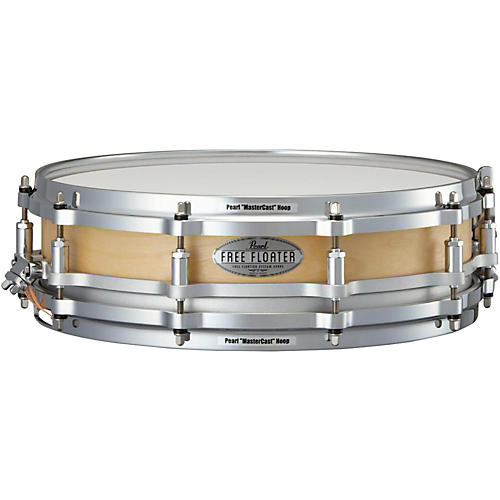 Pearl Free Floating Birch Snare Drum thumbnail