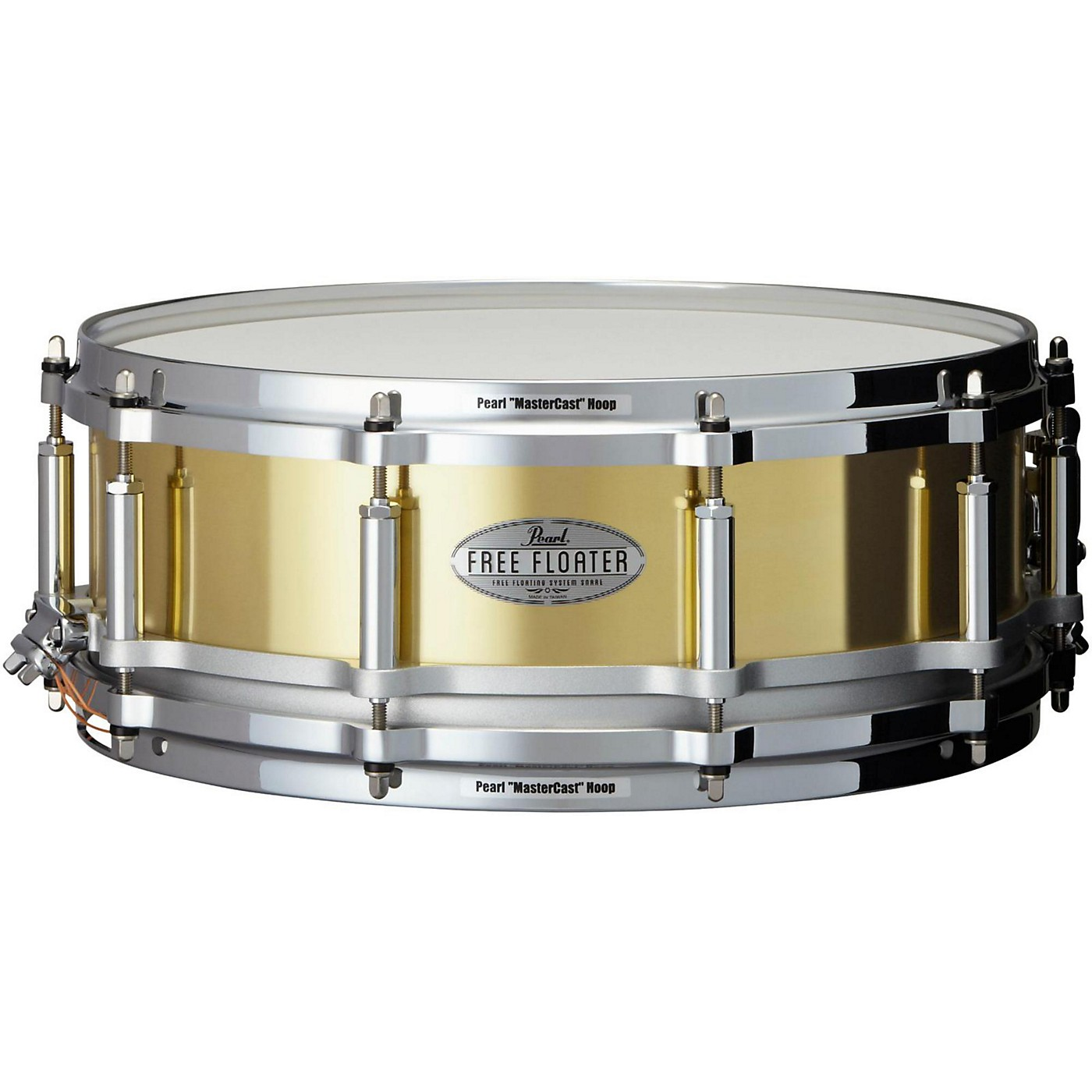 Pearl Free Floating Brass Snare Drum thumbnail