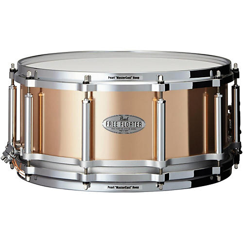 Pearl Free Floating Phosphor Bronze Snare Drum thumbnail
