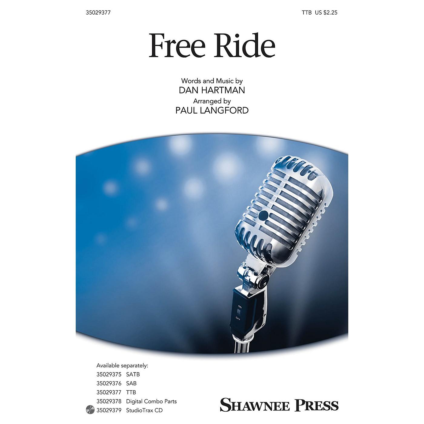 Shawnee Press Free Ride TTB arranged by Paul Langford thumbnail