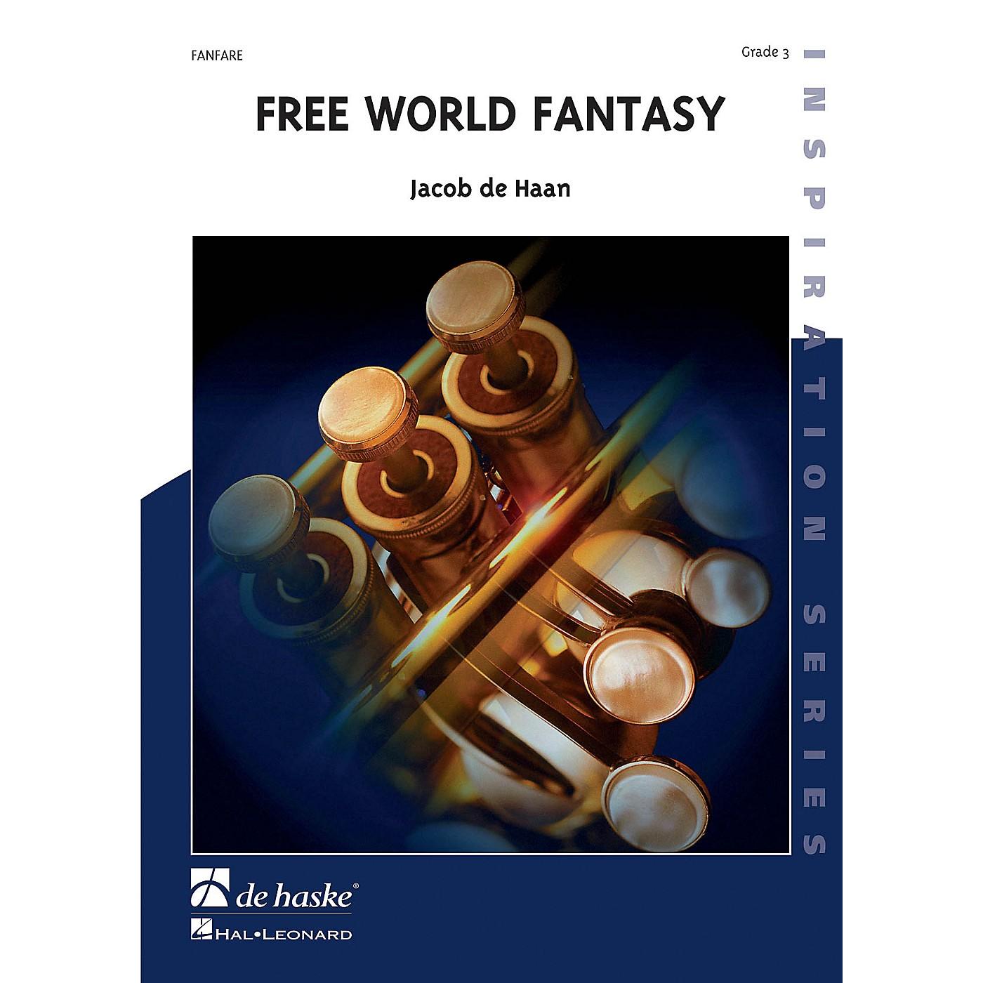 Hal Leonard Free World Fantasy Score Only Concert Band thumbnail