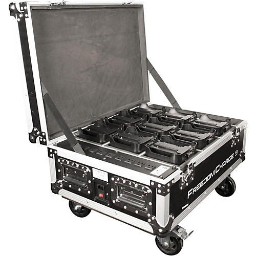 CHAUVET DJ Freedom Charge 9 Stage/DJ Light Rolling Road Case thumbnail