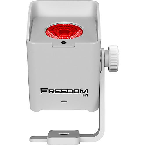 CHAUVET DJ Freedom H1 RGBAW+UV LED X4 Wireless Wash Lighting System with D-Fi, White thumbnail