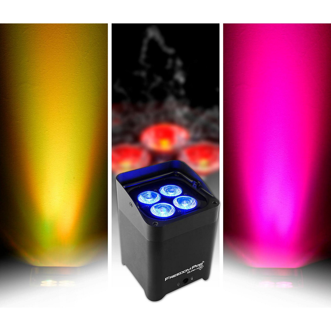 CHAUVET DJ Freedom Par Quad-4 IP Indoor/Outdoor Battery-Powered Wirelss LED Par-Style Wash Light thumbnail