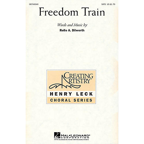 Hal Leonard Freedom Train SATB composed by Rollo Dilworth thumbnail