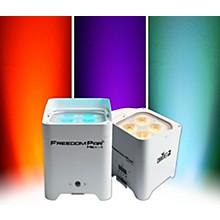 CHAUVET DJ Freedompar HEX4WHT RGBAW+UV LED Light White 2 Pack