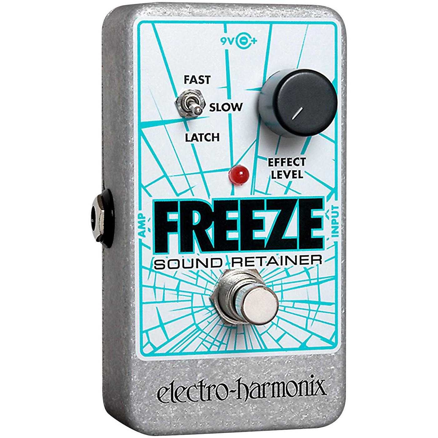 Electro-Harmonix Freeze Sound Retainer Compression Guitar Effects Pedal thumbnail
