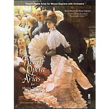 Music Minus One French Arias for Mezzo Soprano and Orchestra Music Minus One Series Softcover with CD  by Various