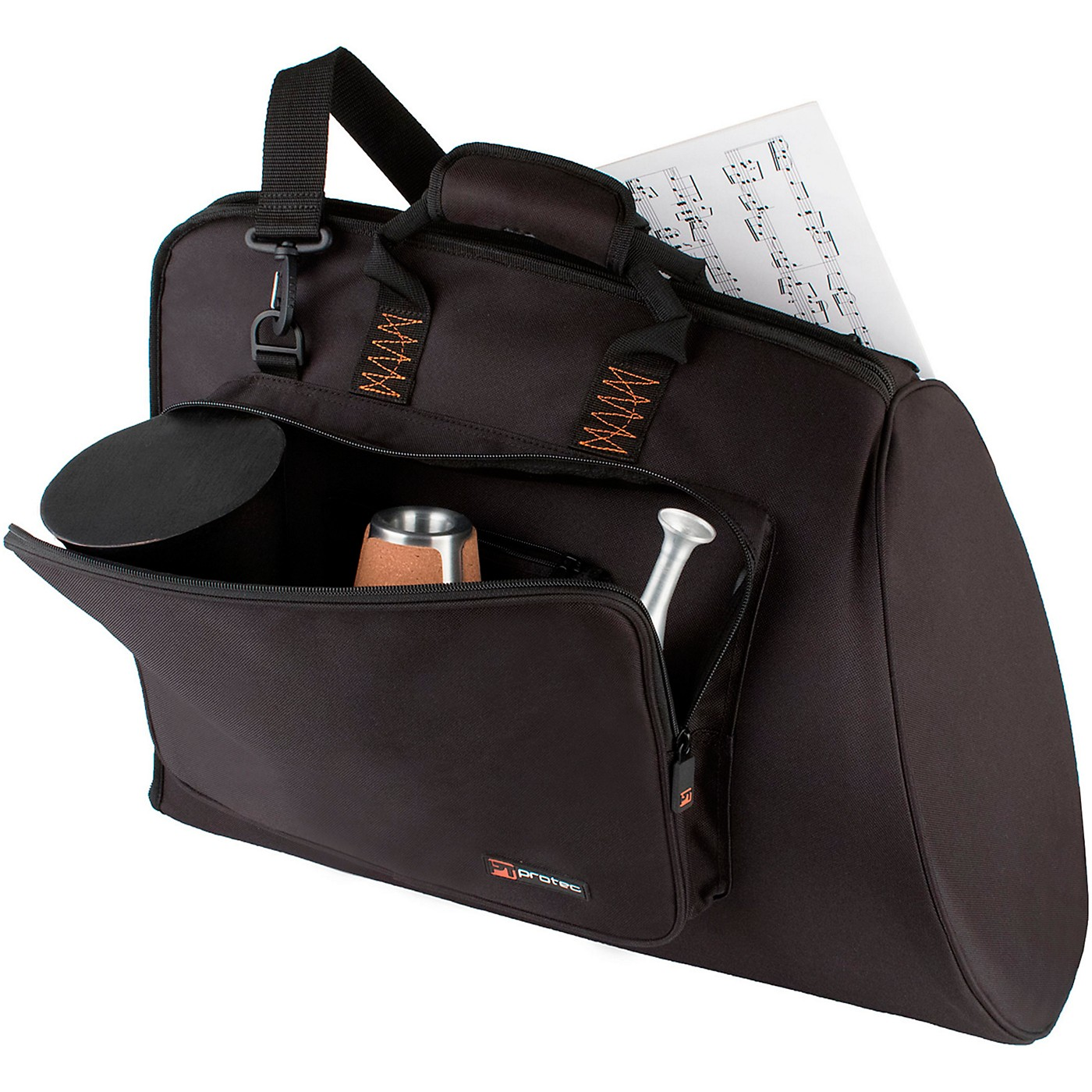 Protec French Horn Explorer Gig Bag with Sheet Music Pocket thumbnail