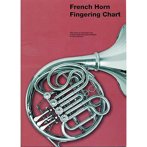 music sales french horn fingering chart woodwind brasswind. Black Bedroom Furniture Sets. Home Design Ideas