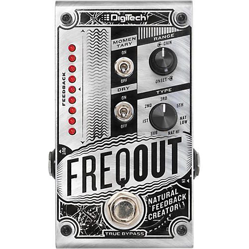 DigiTech FreqOut Frequency Dynamic Feedback Generator Pedal thumbnail