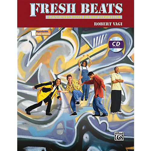 Alfred Fresh Beats: A Standards Based Hip-Hop Curriculum Book & CD thumbnail