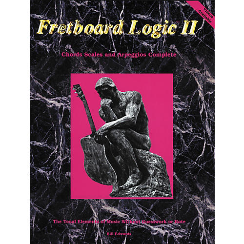 Bill Edwards Publishing Fretboard Logic 2 Chords Scales and Arpeggios Book thumbnail