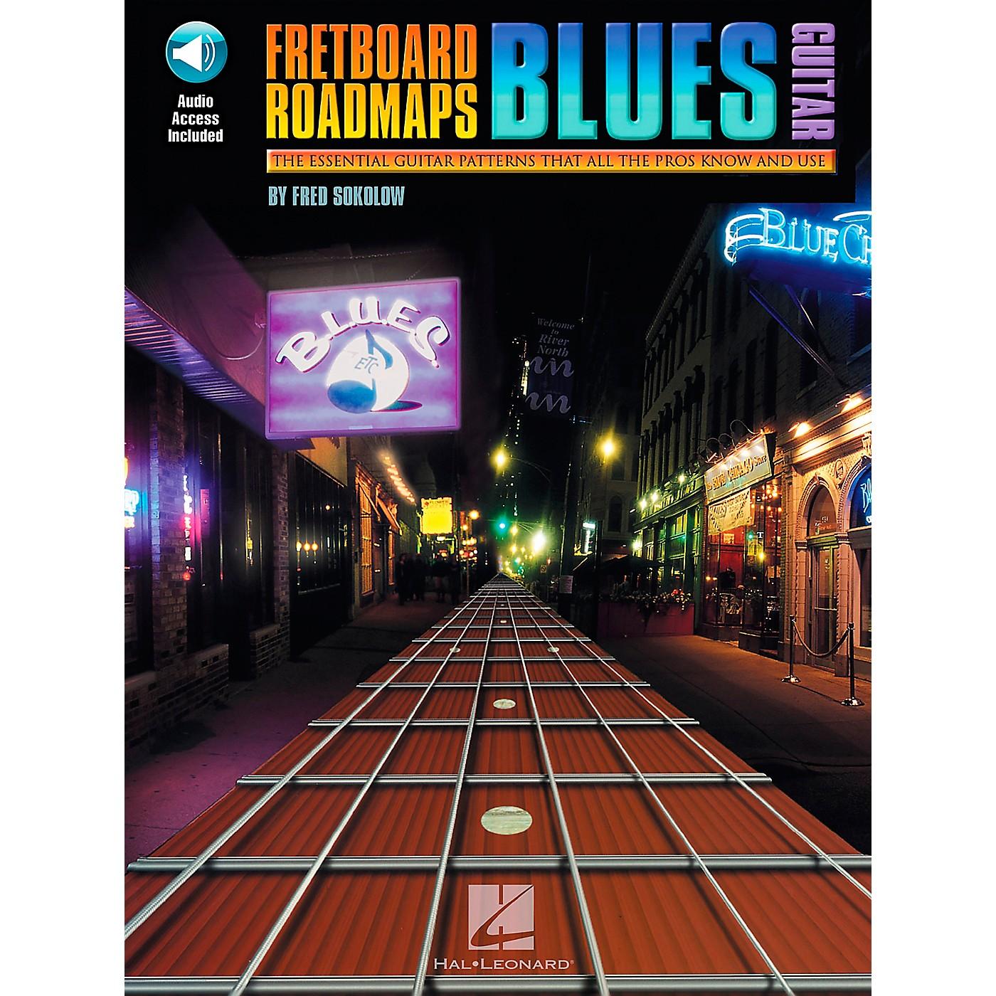 Hal Leonard Fretboard Roadmaps - Blues Guitar Book/Online Audio thumbnail
