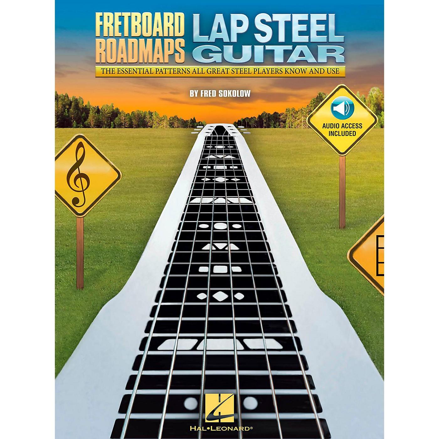 Hal Leonard Fretboard Roadmaps - Lap Steel Guitar (Book/Audio Online) thumbnail