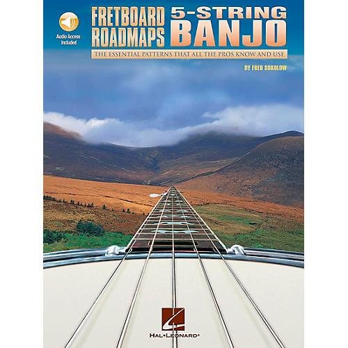 "Hal Leonard Fretboard Roadmaps "" 5-String Banjo (Book/CD) thumbnail"