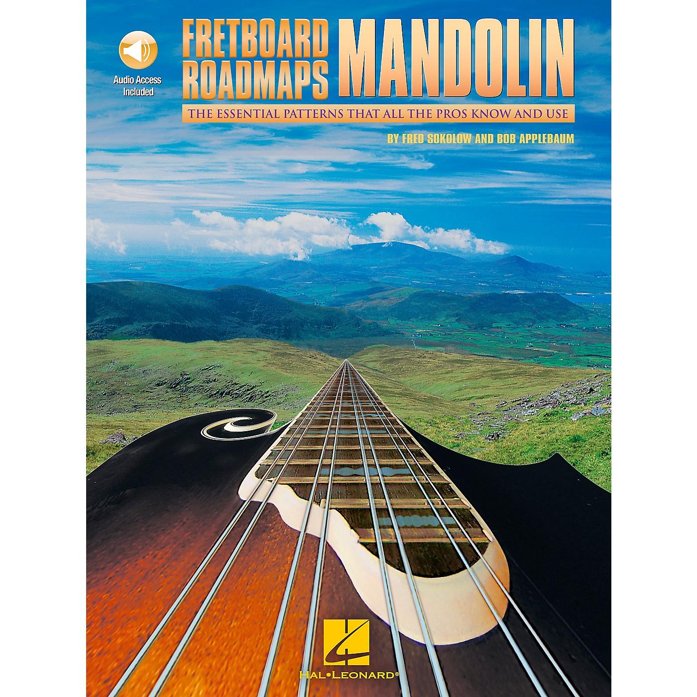 Hal Leonard Fretboard Roadmaps Mandolin (Book/CD) thumbnail