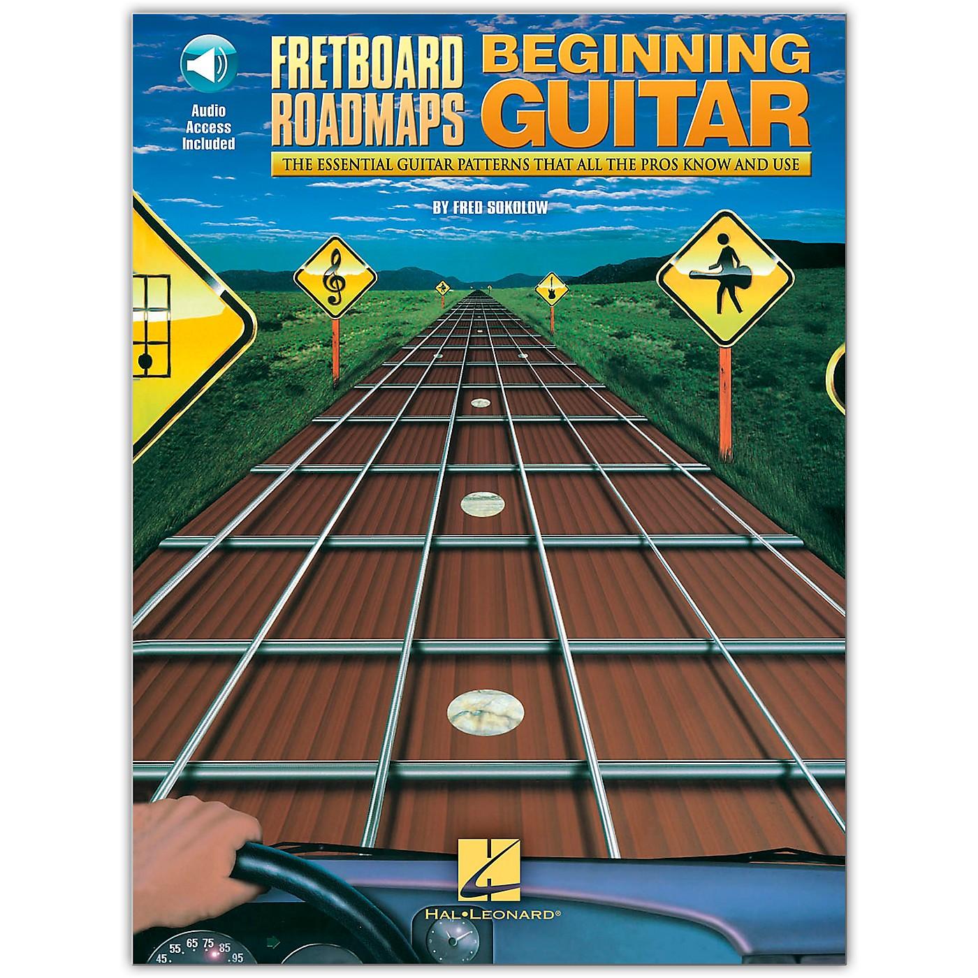 Hal Leonard Fretboard Roadmaps for the Beginning Guitarist (Book/Online Audio) thumbnail