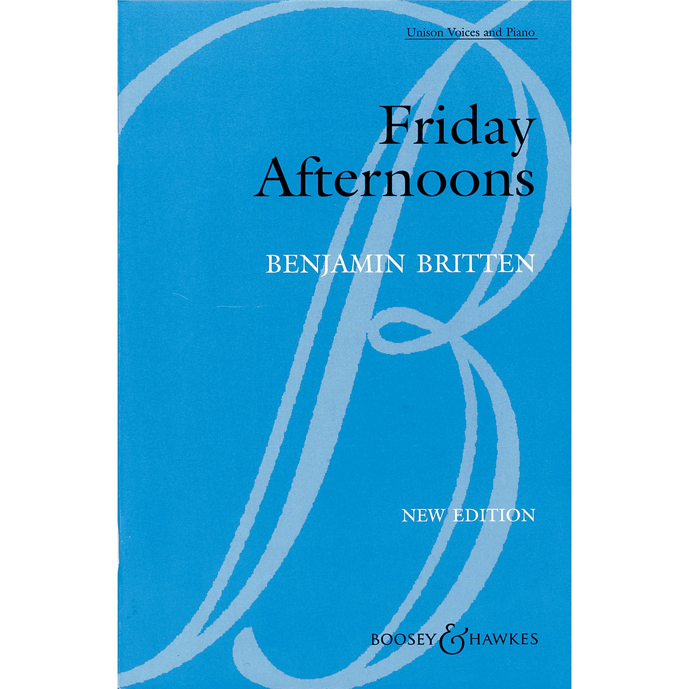 Boosey and Hawkes Friday Afternoons, Op. 7 (1933-35) Unison Voices and Piano UNIS composed by Benjamin Britten thumbnail