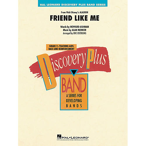 Hal Leonard Friend Like Me (from Aladdin) Concert Band Level 1.5 Arranged by Eric Osterling thumbnail