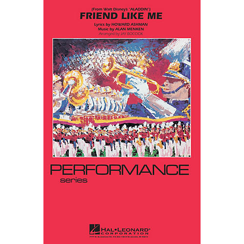 Hal Leonard Friend Like Me (from Aladdin) Marching Band Level 3 Arranged by Jay Bocook thumbnail