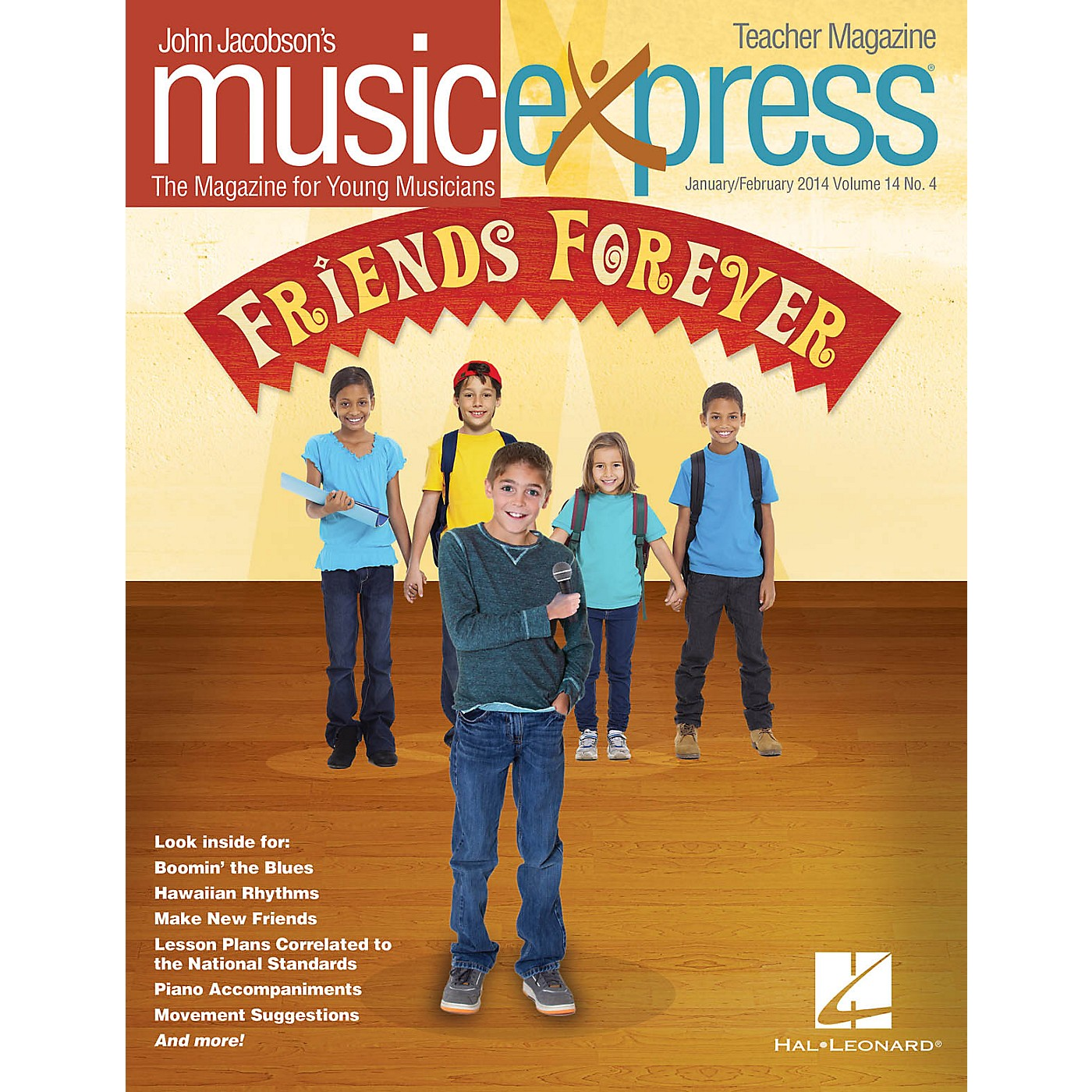 Hal Leonard Friends Forever Vol. 14 No. 4 PREMIUM COMPLETE PAK by Pete Seeger Arranged by Roger Emerson thumbnail