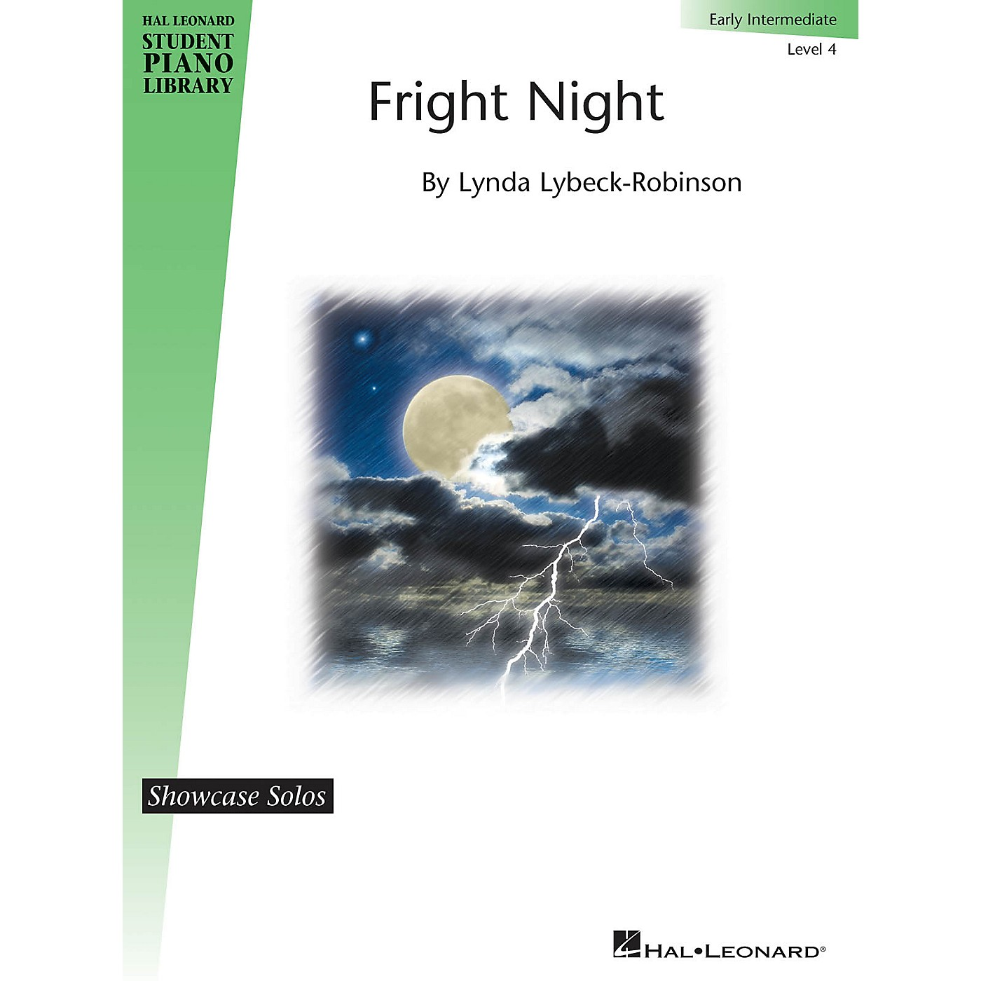 Hal Leonard Fright Night Piano Library Series by Lynda Lybeck-Robinson (Level Early Inter) thumbnail