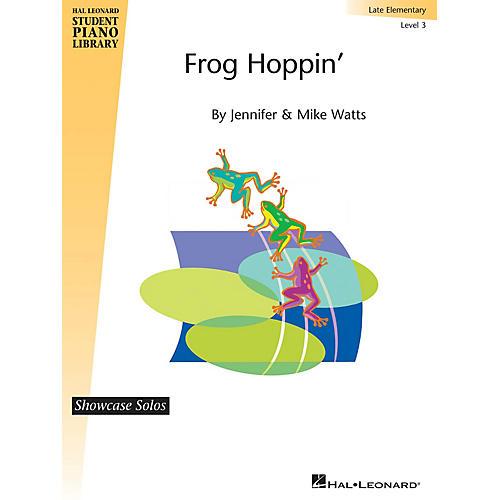 Hal Leonard Frog Hoppin' Piano Library Series by Jennifer Watts (Level Late Elem) thumbnail