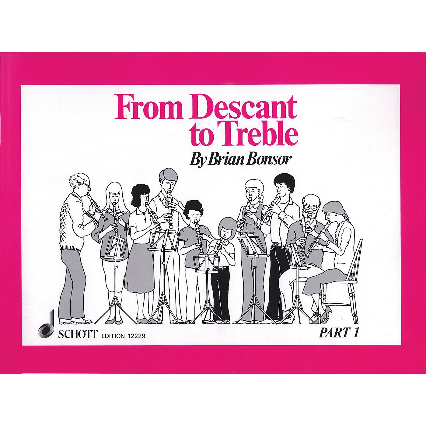 Schott From Descant to Treble - Part 1 (for Treble Recorder) Schott Series Softcover thumbnail