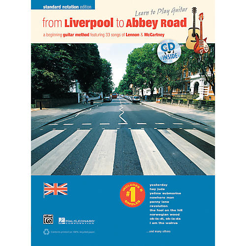 Alfred From Liverpool to Abbey Road Standard Notation Edition Book & CD-thumbnail