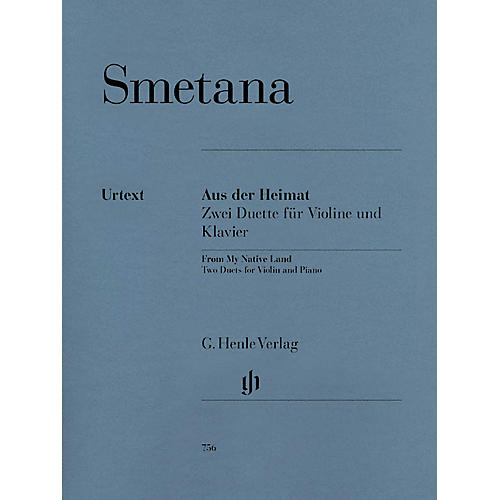 G. Henle Verlag From My Native Land (Two Duets for Violin and Piano) Henle Music Folios Series Softcover thumbnail