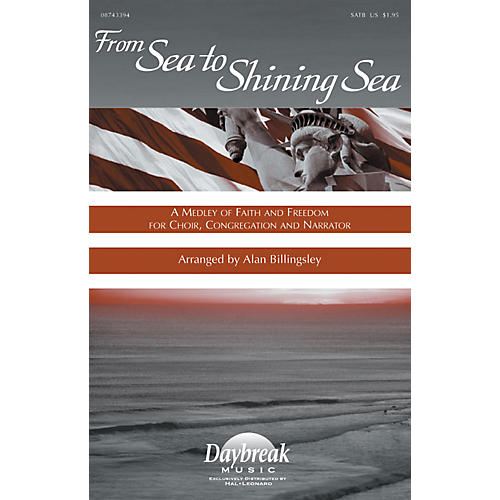 Hal Leonard From Sea to Shining Sea IPAKCO Arranged by Alan Billingsley thumbnail