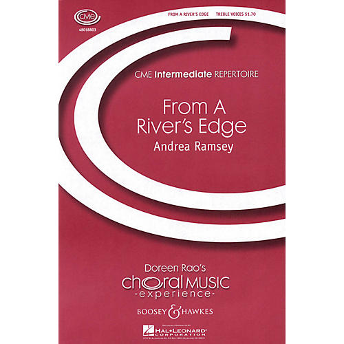 Boosey and Hawkes From a River's Edge (CME Intermediate) SSA DIVISI composed by Andrea Ramsey thumbnail
