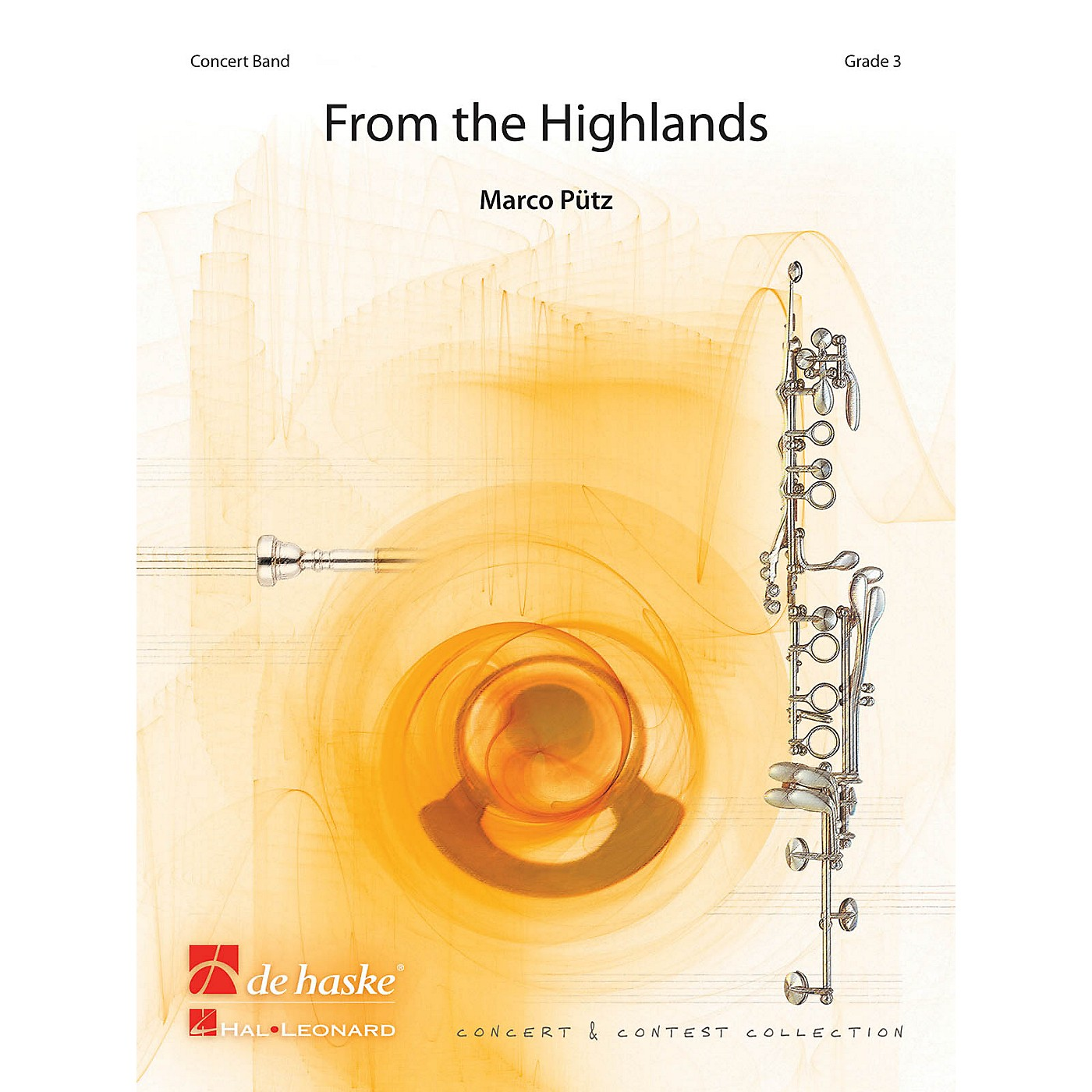De Haske Music From the Highlands Concert Band Level 4 Composed by Marco Pütz thumbnail