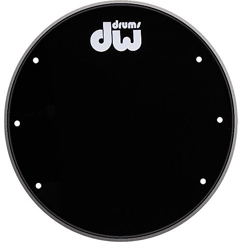 DW Front Ported Bass Drumhead with Logo thumbnail