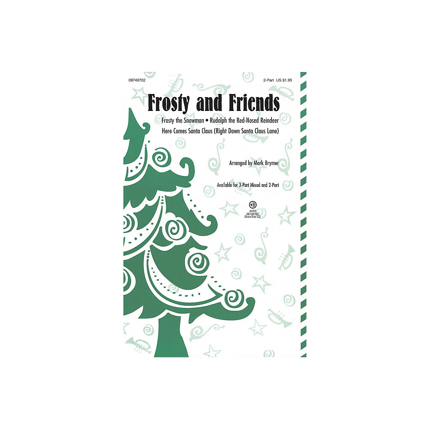 Hal Leonard Frosty and Friends (Medley) 3-Part Mixed Arranged by Mark Brymer thumbnail