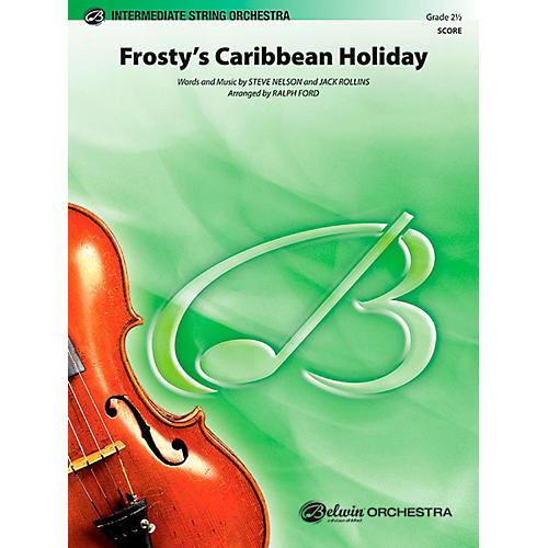 Alfred Frosty's Caribbean Holiday String Orchestra Level 2.5 Set thumbnail