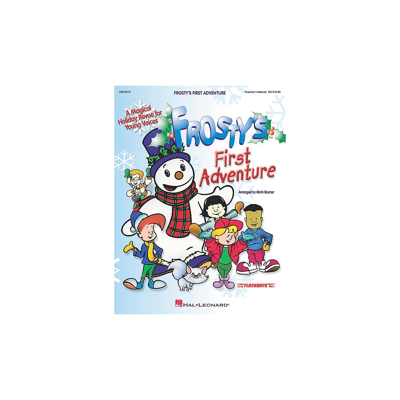 Hal Leonard Frosty's First Adventure (Teacher's Manual) TEACHER ED Arranged by Mark Brymer thumbnail