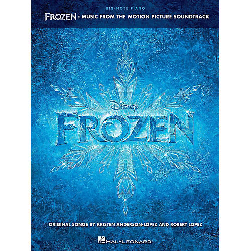 Hal Leonard Frozen - Music From The Motion Picture Soundtrack for Big Note Piano thumbnail