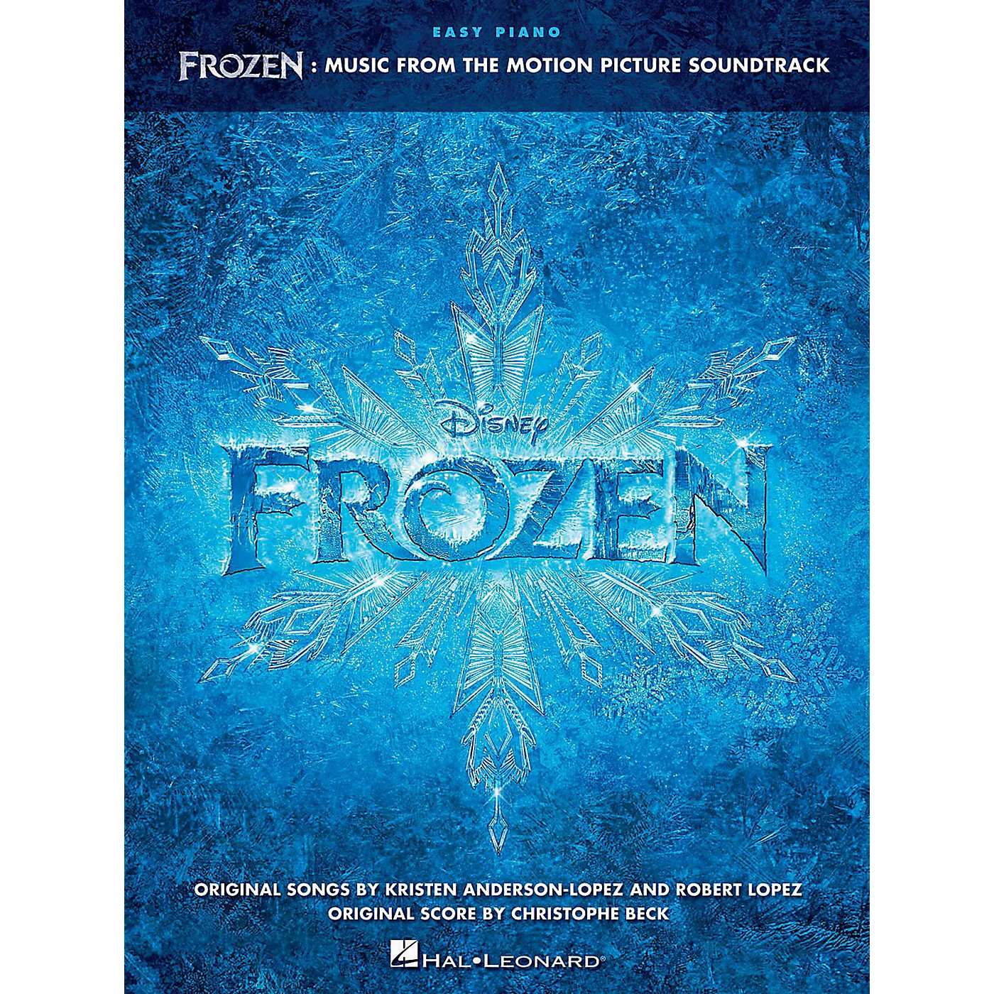 Hal Leonard Frozen - Music From The Motion Picture Soundtrack for Easy Piano thumbnail