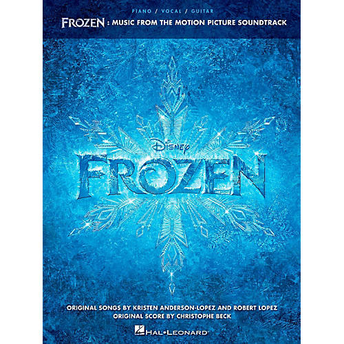 Hal Leonard Frozen - Music From The Motion Picture Soundtrack for Piano/Vocal/Guitar-thumbnail
