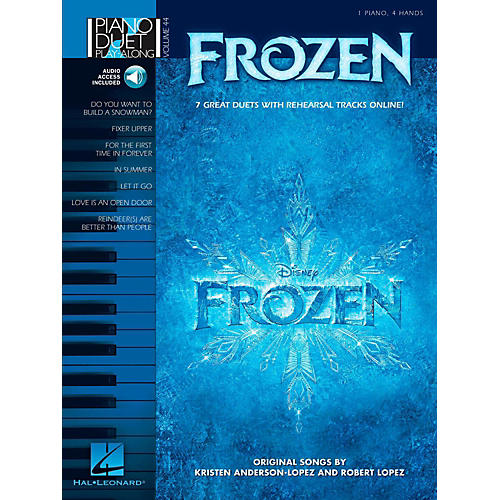 Hal Leonard Frozen - Piano Duet Play-Along Volume 44 Book w/ Online Audio thumbnail