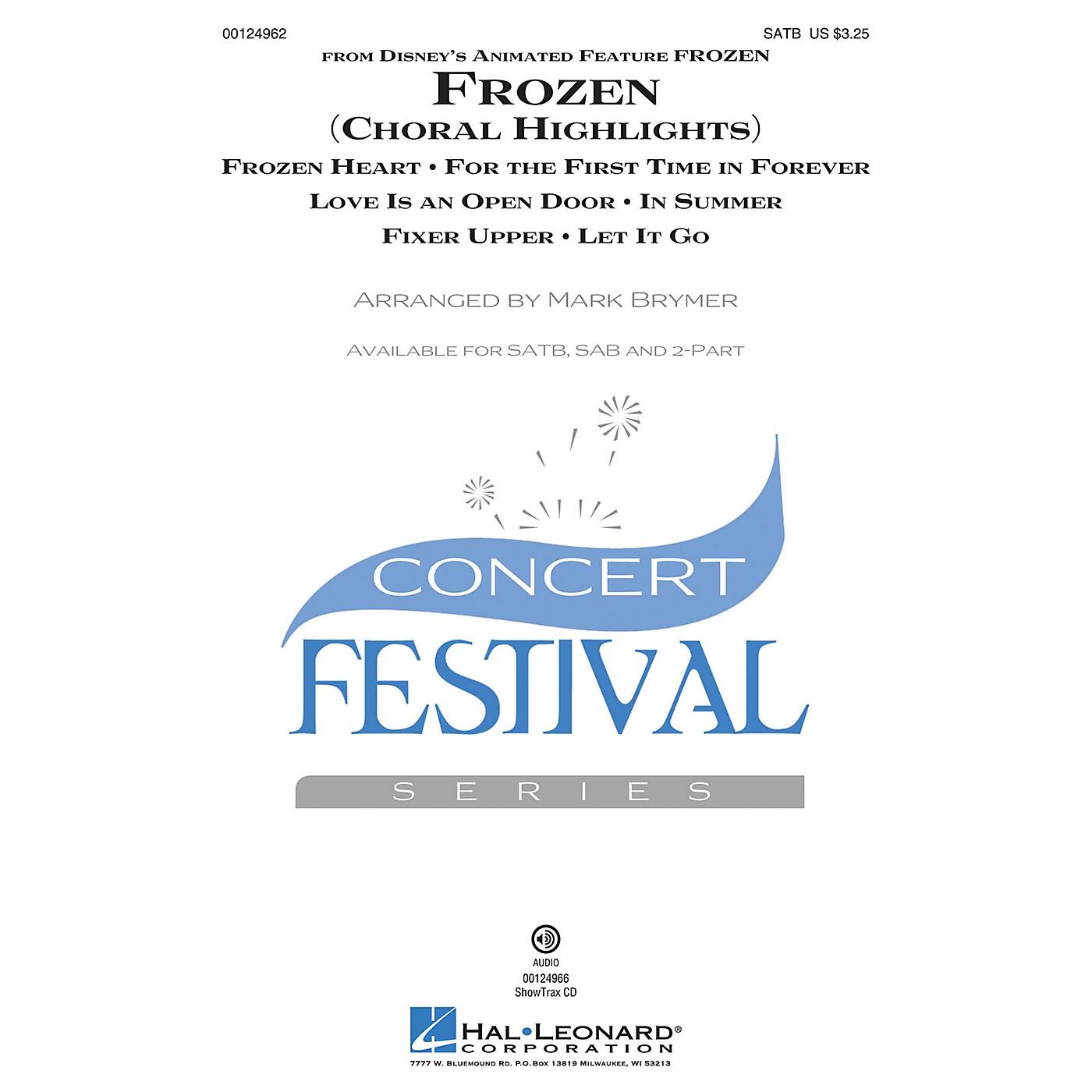 Hal Leonard Frozen (Choral Highlights) SSA Arranged by Mark Brymer thumbnail