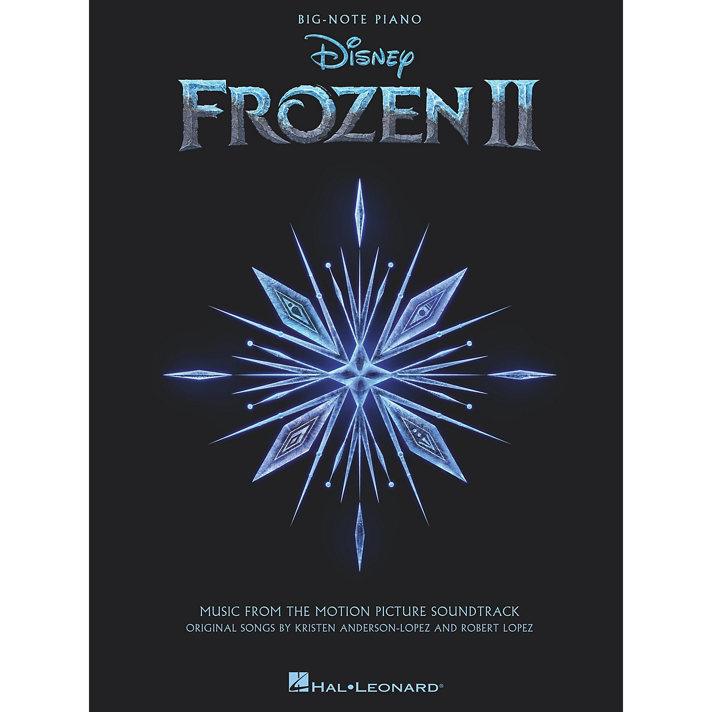 Hal Leonard Frozen II Big-Note Piano Songbook thumbnail