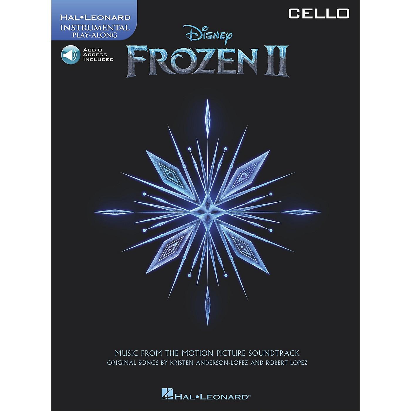 Hal Leonard Frozen II Cello Play-Along Instrumental Songbook Book/Audio Online thumbnail