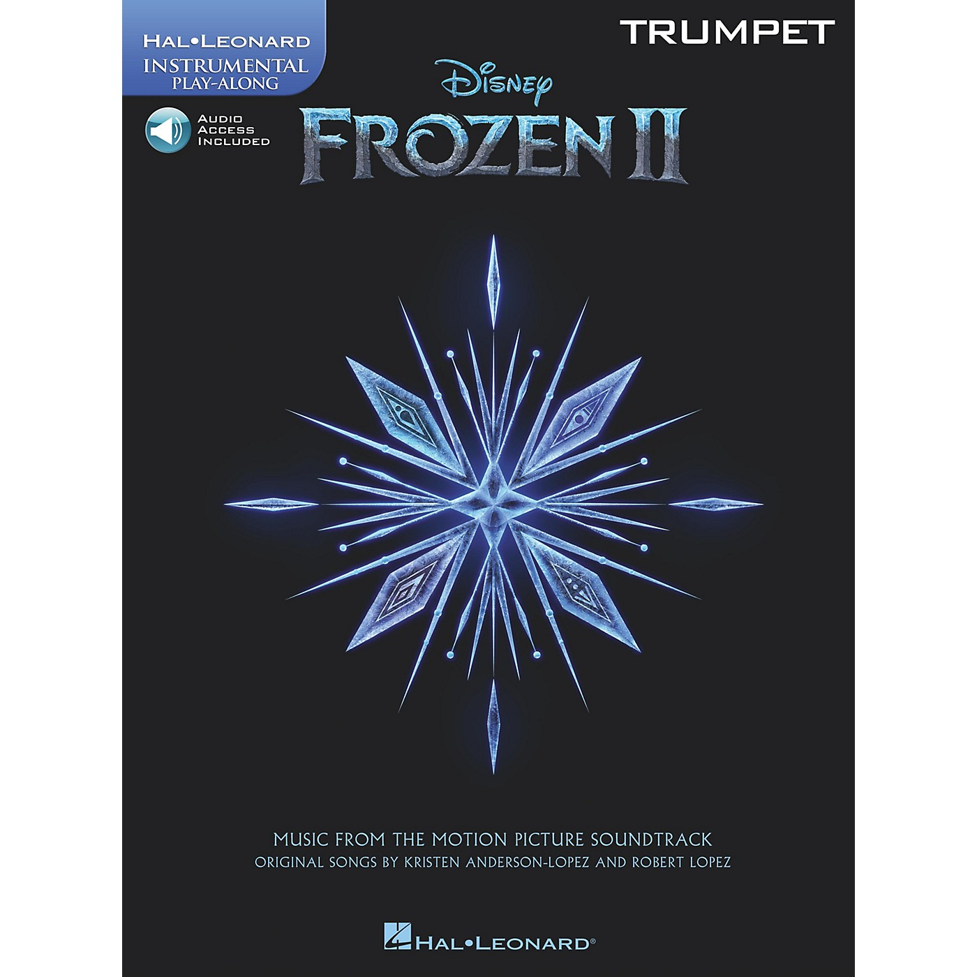 Hal Leonard Frozen II Trumpet Play-Along Instrumental Songbook Book/Audio Online thumbnail
