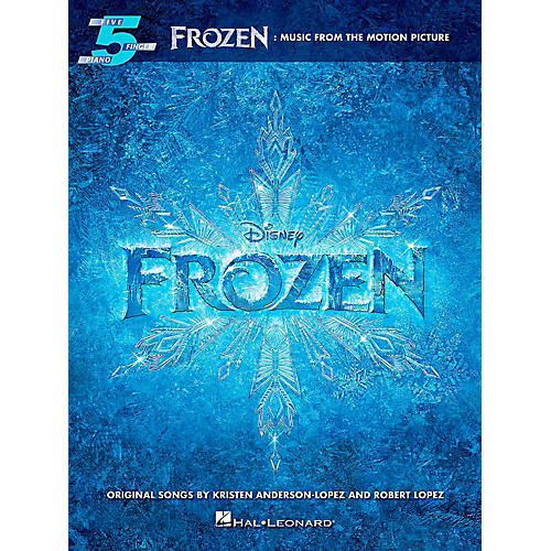 Hal Leonard Frozen: Music From The Motion Picture For Five-Finger Piano thumbnail